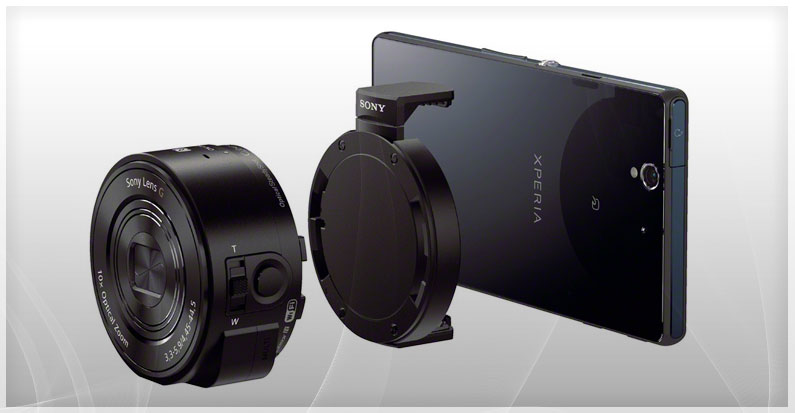 Attachable Lens-Style Cameras